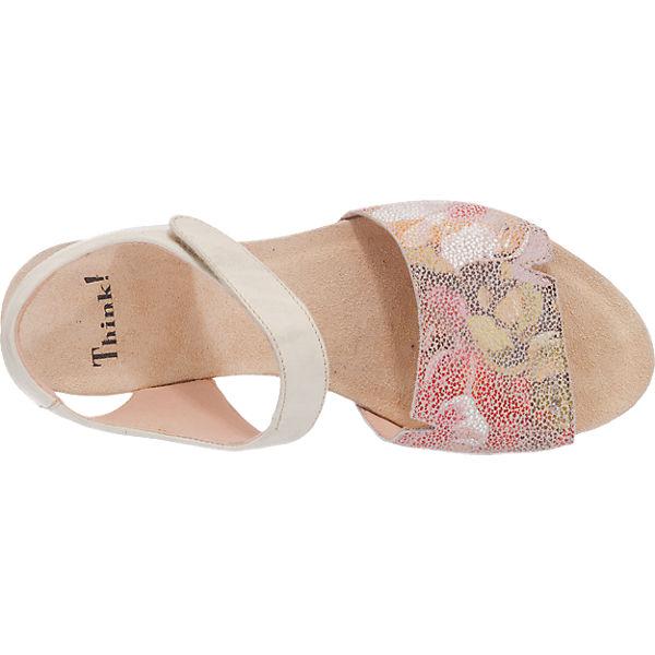 Think! Think! TRAUDI Sandaletten rosa