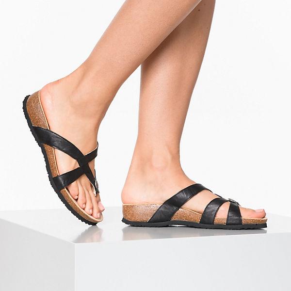 Think!, Think! Gute JULIA Pantoletten, schwarz  Gute Think! Qualität beliebte Schuhe 0c3b9f