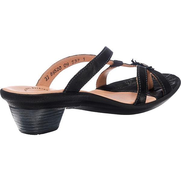 Think!, Think! Gute NANET Pantoletten, schwarz  Gute Think! Qualität beliebte Schuhe 022f29