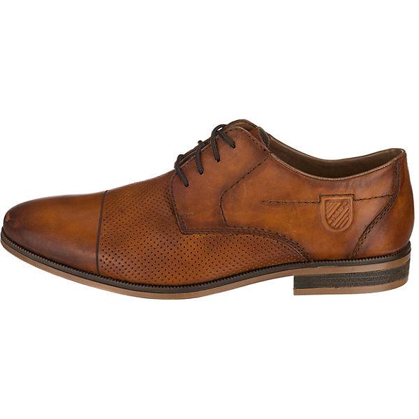 Rieker, cognac Business-Schnürschuhe, cognac Rieker, Gute Qualität beliebte Schuhe 2c49f5