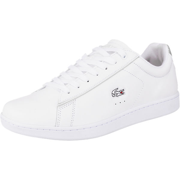 LACOSTE CARNABY EVO 217 2 SPW WHT/LT GRY Sneakers