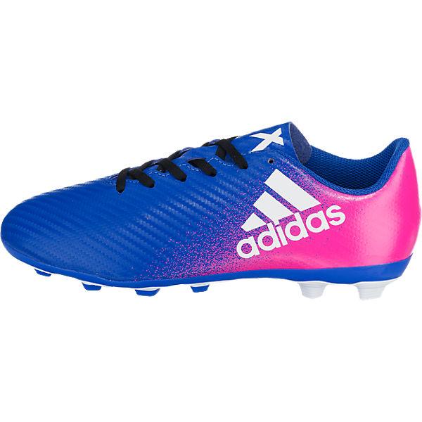adidas Performance Kinder Fußballschuhe X 16.4 FxG blau-kombi