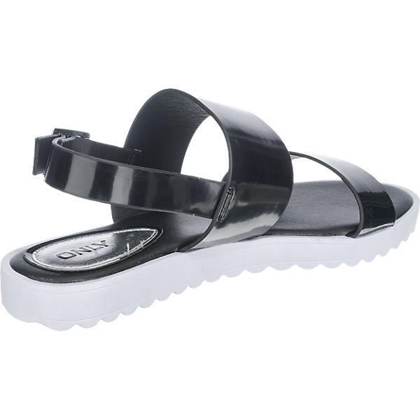 ONLY ONLY Mani Sandaletten schwarz