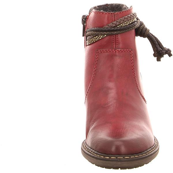 rieker, rieker Stiefeletten, rot  Schuhe Gute Qualität beliebte Schuhe  ae6a78