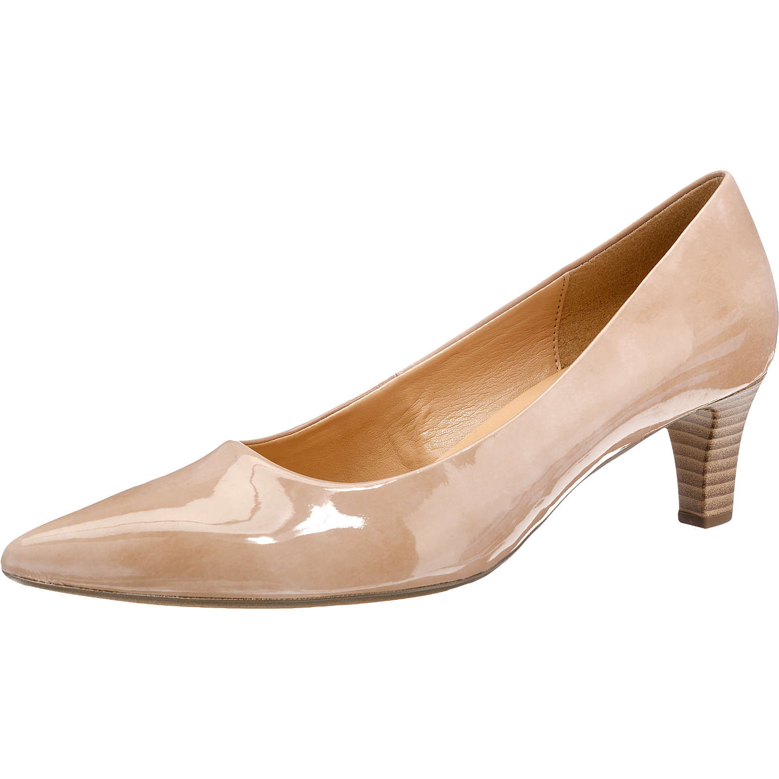 Gabor Pumps beige Damen Gr. 38,5