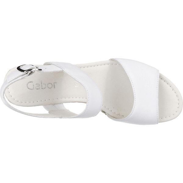 Gabor Gabor Sandaletten weiß