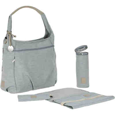 Wickeltasche Greenlabel, Hobo Bag, grey