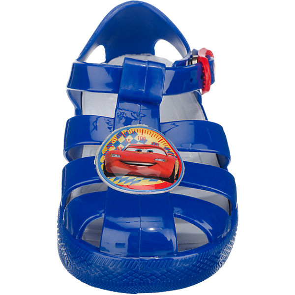 DISNEY CARS Kinder Badeschuhe blau
