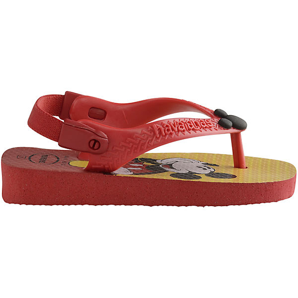 havaianas DISNEY MICKEY MOUSE Kinder Zehentrenner rot