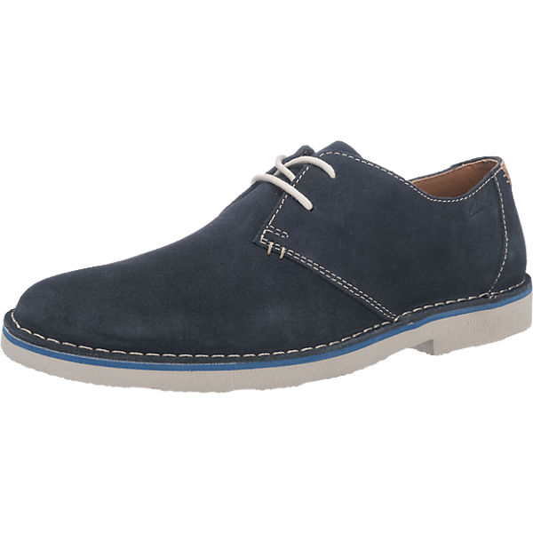 Guhrow Angebote Clarks Jareth Walk Freizeit Schuhe dunkelblau Herren Gr. 46