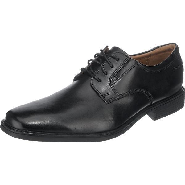 Business Clarks Plain schwarz Schnürschuhe Tilden wxqR6XF