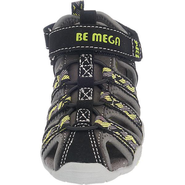 Be Mega Sandalen für Jungen schwarz-kombi