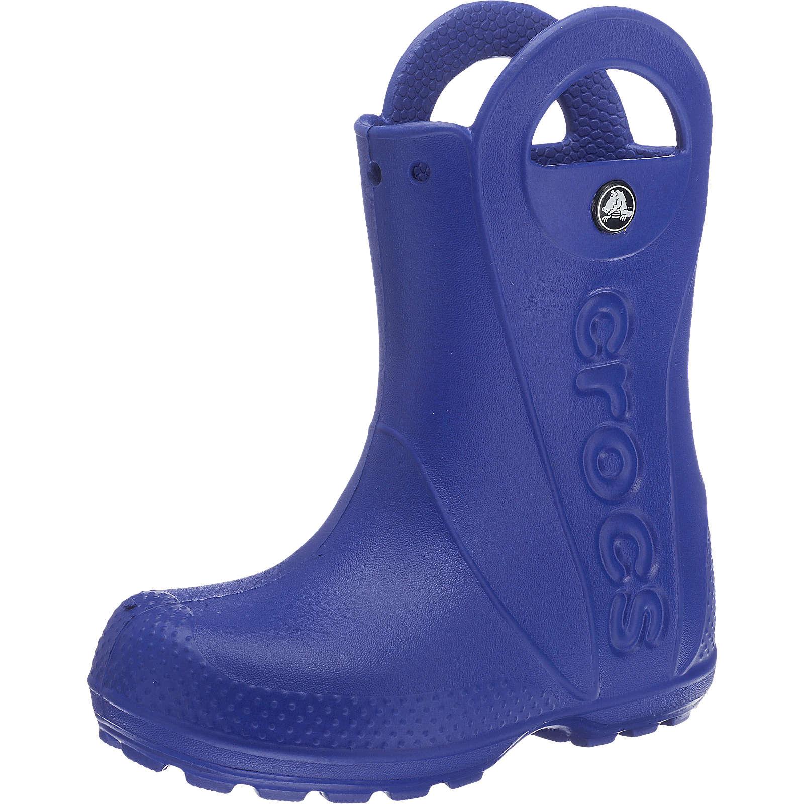 CROCS Kinder Gummistiefel Handle It Rain Boot blau Junge Gr. 32/33