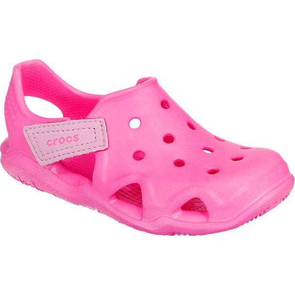 the latest 7f8d3 51f01 crocs, Clogs Swiftwater Wave für Mädchen, pink