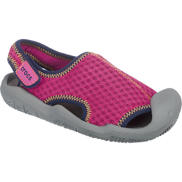 crocs Kinder Badeschuhe Swiftwater Sandal pink