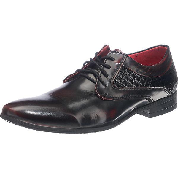 Kristofer Business Schuhe bordeaux Herren Gr. 44