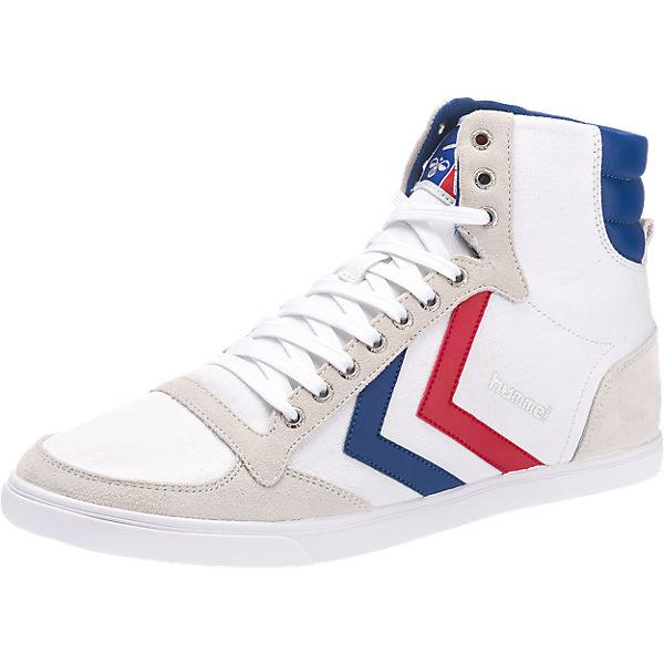hummel Slimmer Stadil High Sneakers weiß-kombi Gr. 48