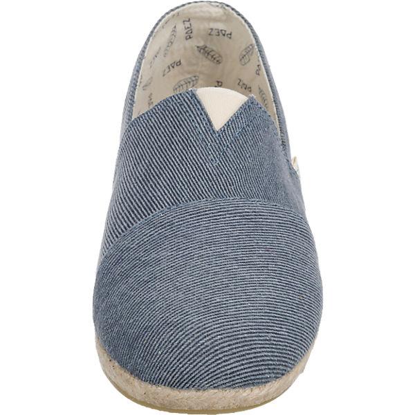 paez paez Original Raw Essential Slipper blau