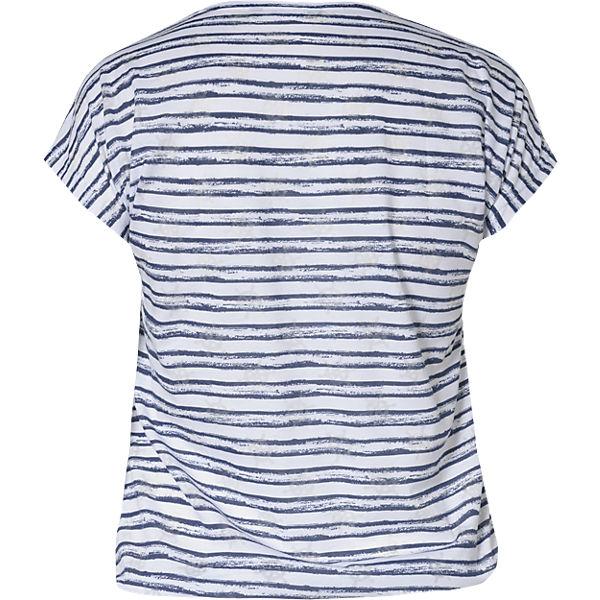 Shirt blau SEVEN T BLUE weiß TfPxwwA