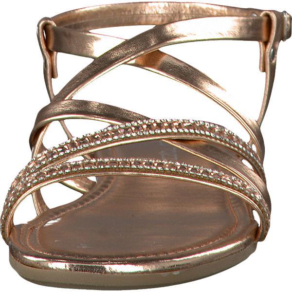 marco tozzi marco tozzi eder sandaletten bronze mirapodo. Black Bedroom Furniture Sets. Home Design Ideas
