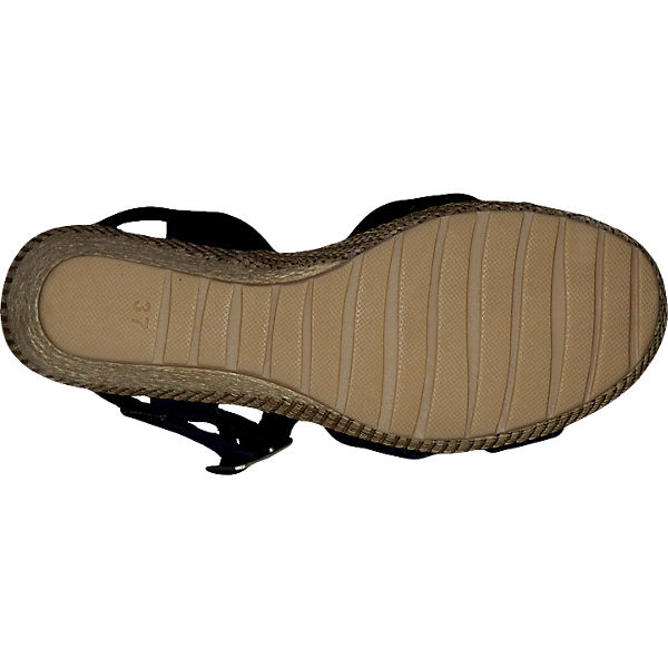 MARCO TOZZI MARCO TOZZI Sacco Sandaletten dunkelblau