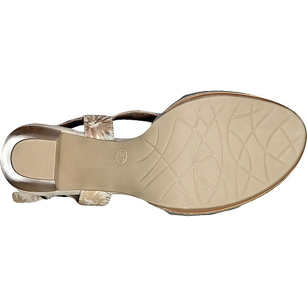 MARCO TOZZI MARCO TOZZI Paduli Sandaletten beige-kombi