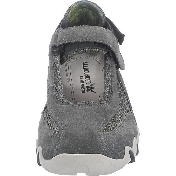 ALLROUNDER BY MEPHISTO,  NIRO Sportliche Ballerinas, grau  MEPHISTO, Gute Qualität beliebte Schuhe a339de