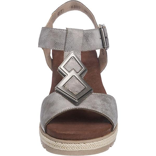 Remonte, D6350 KeilSandaleetten, grau  Schuhe Gute Qualität beliebte Schuhe  d56413