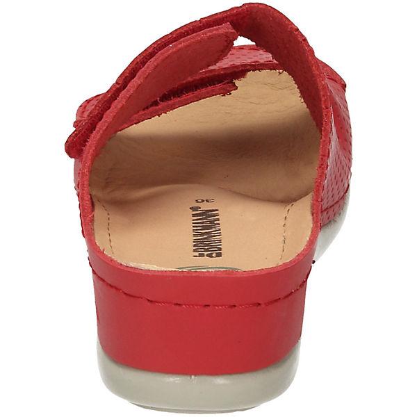Dr. Brinkmann, Gute Dr. Brinkmann Pantoletten, rot  Gute Brinkmann, Qualität beliebte Schuhe 8e0917