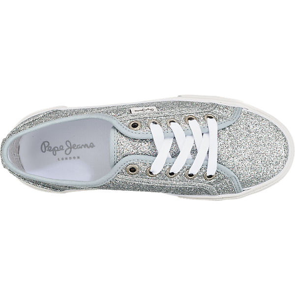 Pepe Jeans Pepe Jeans Aberlady Flash Sneakers silber