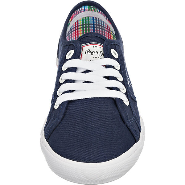 Sneakers Jeans Sneakers Pepe dunkelblau Pepe Low Jeans PBvw4nq7v