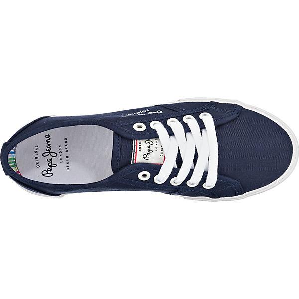 Low Sneakers Low dunkelblau Pepe Jeans Pepe Jeans dunkelblau Sneakers Yw0TZ6x