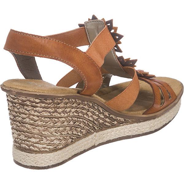 rieker rieker Sandaletten braun-kombi