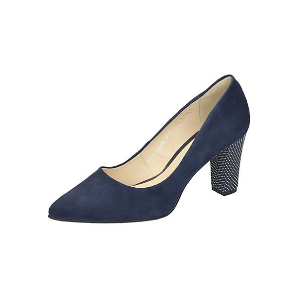 Piazza Piazza Pumps blau