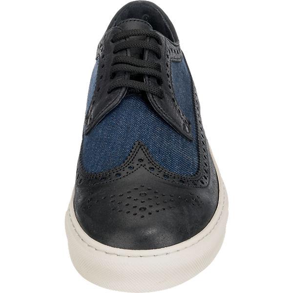CUOIERIA ANTICA CUOIERIA blau Sneakers ANTICA kombi x8zFwxq