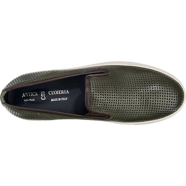 Sneakers ANTICA CUOIERIA ANTICA dunkelgrün CUOIERIA pxRTwt8