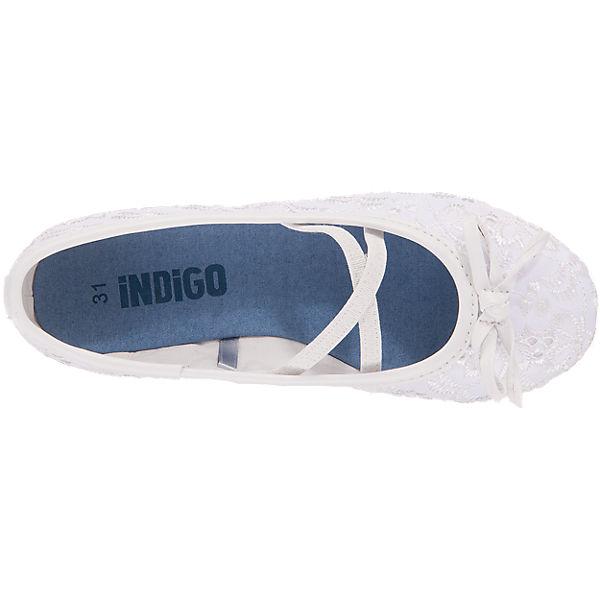 INDIGO Kinder Ballerinas weiß