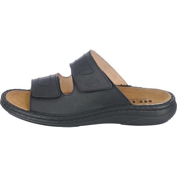 HELIX, Komfort-Pantoletten, schwarz Schuhe  Gute Qualität beliebte Schuhe schwarz 63f48a