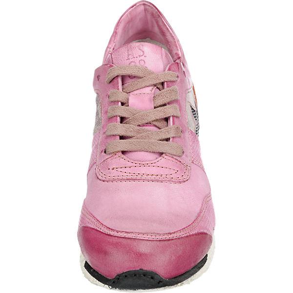 A.S.98 A.S.98 Phoenix Sneakers rosa