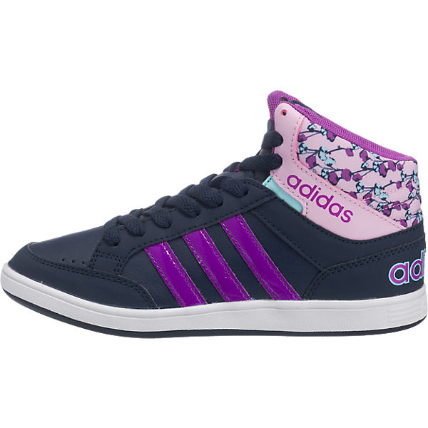 adidas NEO Kinder Sneakers Hoops Mid dunkelblau