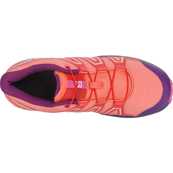 Salomon Kinder Outdoorschuhe SPEEDCROSS rot-kombi
