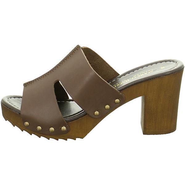 MARCO braun TOZZI, MARCO TOZZI Pantoletten, braun MARCO  Gute Qualität beliebte Schuhe 9f6f8b