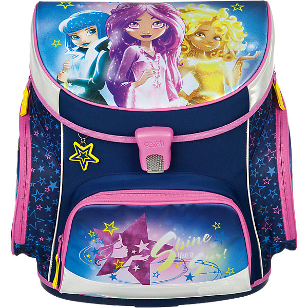 Schulranzenset Campus Up Star Darlings, 5-tlg. - Kollektion 2017