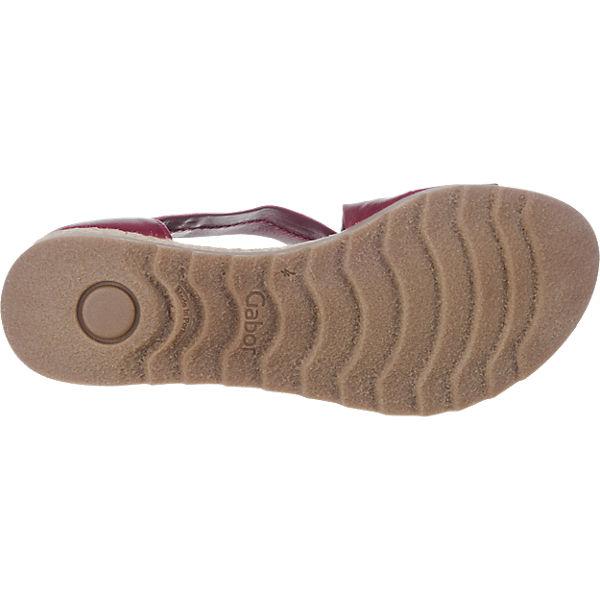 Gabor Gabor Sandaletten rot