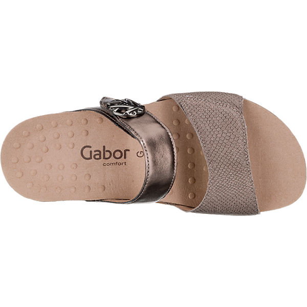 Gabor Gabor Pantoletten braun