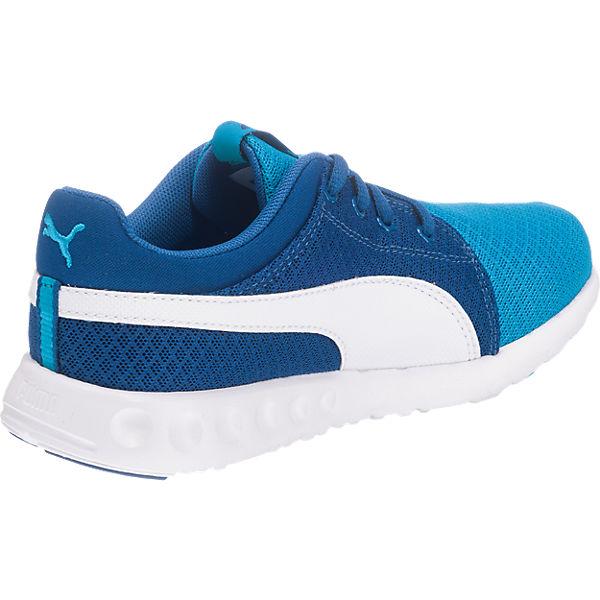 PUMA Kinder Sneakers Carson Runner blau