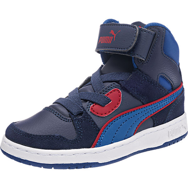 PUMA Kinder Sneakers Puma Rebound Street aus Leder blau