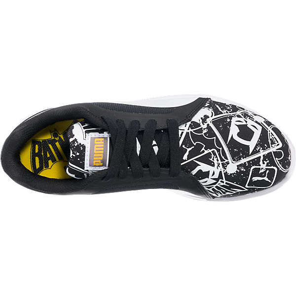 PUMA Kinder Sneakers St Trainer Batman schwarz-kombi