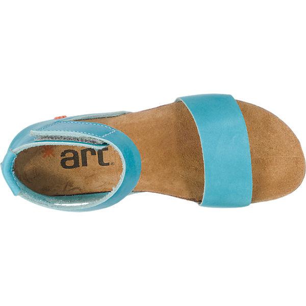 *art *art Creta Sandalen hellblau
