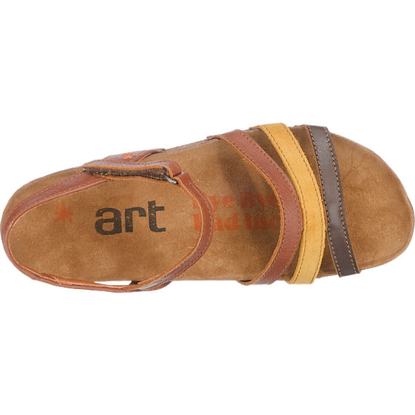 *art *art I Breathe Sandalen braun-kombi